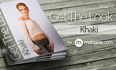 Get The Look - Khaki by makigiaz.com
