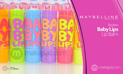 Maybelline - Baby Lips Review - MakigiazCom