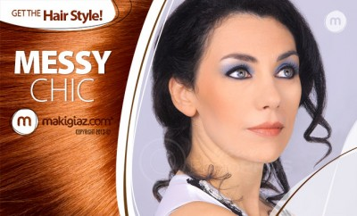 Get the Hairstyle - Messy Chic - Makigiaz Com