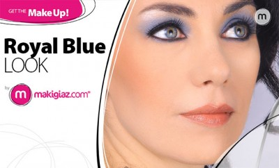 Get The Makeup - Royal Blue