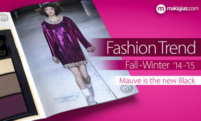 Fashion trend fall winter 2014 - mauve - Makigiaz Com