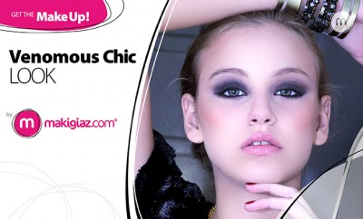 Get The MakeUp - Venomous Chic Look by Makigiaz Com