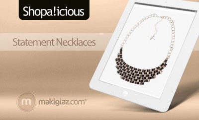 Shopalicious - Statement Necklace - Makigiaz Com