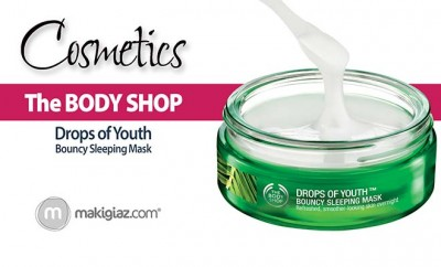 The body shop drops of youth mask - Makigiaz Com