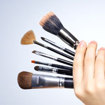 How to clean your Makeup Brushes - Part B