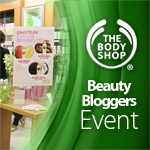 Body Shop : The Beauty Bloggers Event 05.09.12