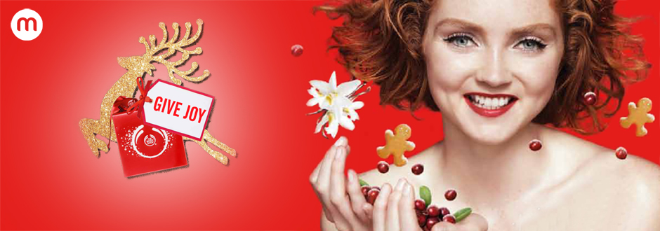 The Body Shop : Give Joy
